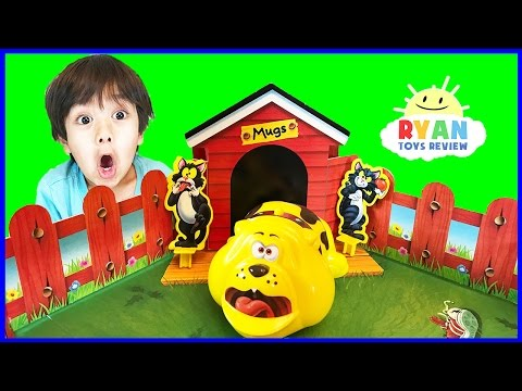 Thumbnail: Fraidy Cats Board Game Family Fun For Kids! Egg Surprise Toys Opening Ryan ToysReview