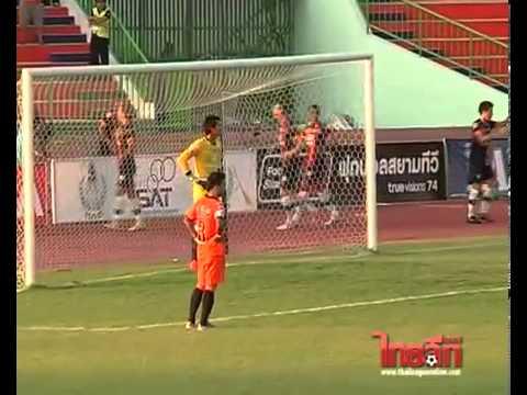 ดูบอลสด ไฮไลท์ฟุตบอลไทยพรีเมียร์ลีก 2013 ราชบุรี 1-1 สุพรรณบุรี