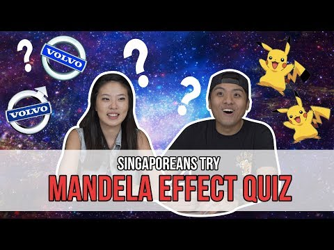 Singaporeans Try: The Mandela Effect
