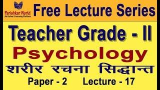 Free Online Lecture Teacher Gd - II [Paper - I] Psychology Parishkar World