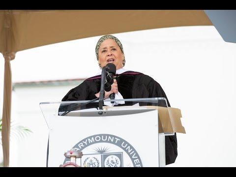 Anna Deavere Smith Addresses 2017 LMU Undergraduate Commencement