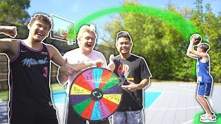 SPIN THE WHEEL OF 2v2 BASKETBALL CHALLENGES!