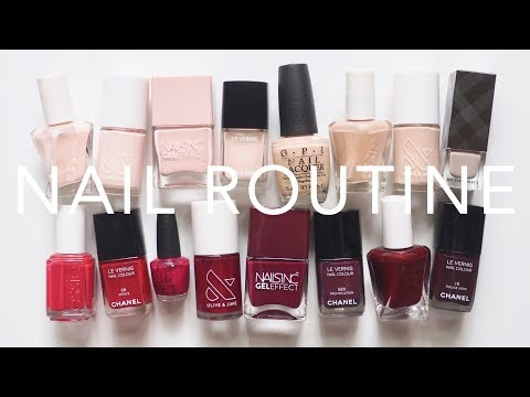 nail-polish-routine-|-at-home-manicure-tutorial,-tips-and-tools