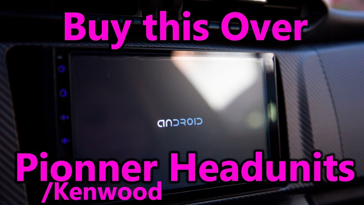 Android Head Unit 200 dollars in a 2016 BRZ - Scion FR-S