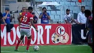 Club Africain vs Olympique de Beja : But Ouedhrfi 2017 Video