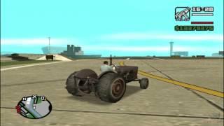 GTA SA- Fastest tractor in San Andreas!