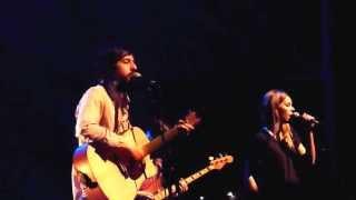 Adam Green And Binki Shapiro - Here I Am -- Live At AB Box Brussel 20-03-2013