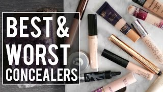 5 BEST & 5 WORST: CONCEALERS | What's HOT or NOT?! Jamie Paige