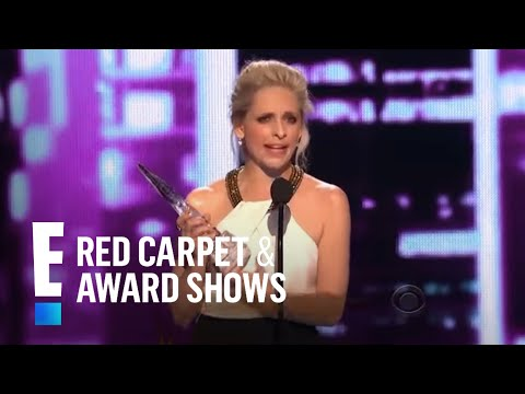 The People's Choice for Favorite Actress In A New TV Series is Sarah Michelle Geller