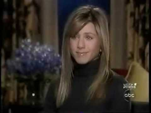 Jennifer Aniston Interview With Diane Sawyer  Part 1 -  Primetime