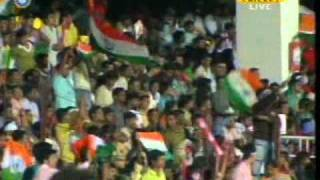 Cricket world cup 2011 theme song Say India...