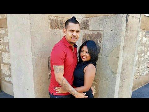 Sunil Narine With Wife Nandita Kumar | West Indies VS England 2019 Cricket Series