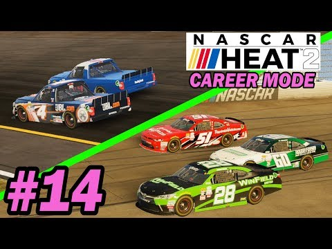 FUEL GIVITH, FUEL TAKETH AWAY  [NASCAR Heat 2 Career Mode -- Trucks 12/23]