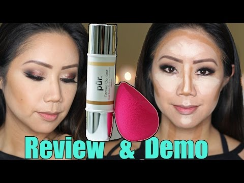 PUR Minerals Cameo Contour Review & Demo | Twilightchic143