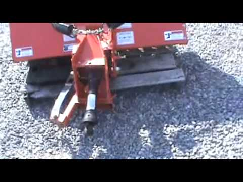 Kubota Bx2537a Sweeper Broom For Bx And B Series Tractors