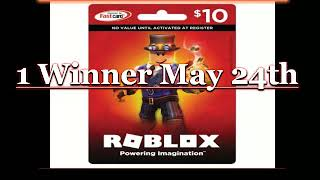 """""""GrouchYp0p"""" Roblox Card Giveaway"""