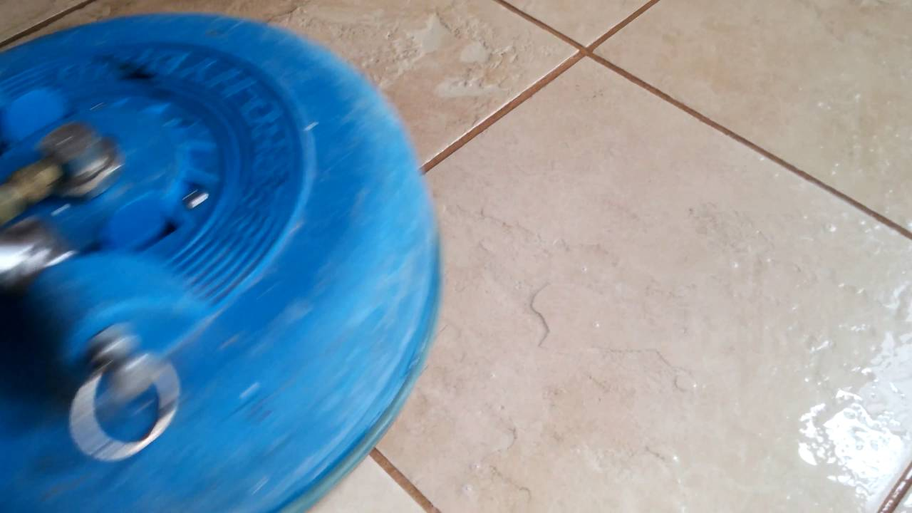 Tile Grout Restoration and Grout Color Sealing - YouTube