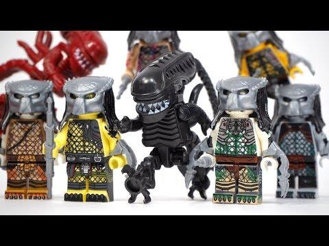 Alien Vs Predator Unofficial Lego Minifigures
