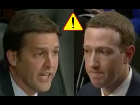 """Does Facebook Try To Get People ADDICTED To Your Platform?"" Senator Grills Marck Zuckerberg!"