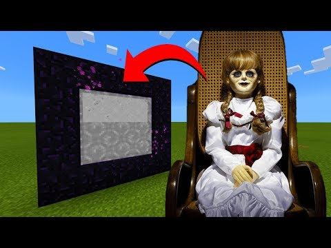 How To Make A Portal To The Annabelle Dimension in Minecraft!