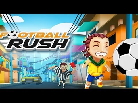 Official Football Rush 2014: Brazil Dash! (iOS / Android) Launch Trailer