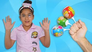 Kids learn color with candies - finger family song - Kinderlieder und lernen Farben