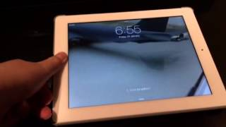 Touch ID function on iPad (Third Generation)