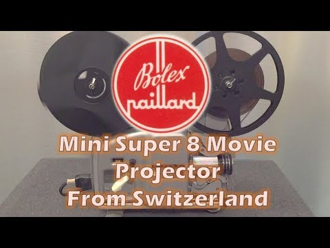 Swiss Made Movie Projector Built Like a Small Tank