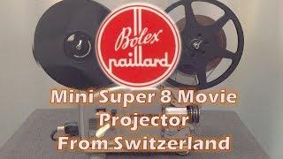 Bolex Mini Super 8 Movie Projector from Switzerland