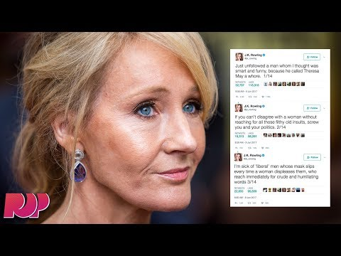 J.K. Rowling Slams Hypocrite Liberal Feminists Who Call Women 'Whores'