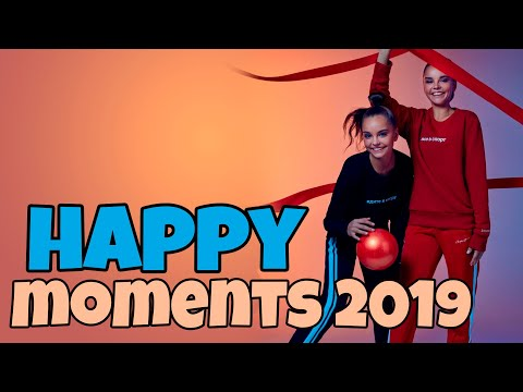 Happy And BEST Moments Of 2019 In RHYTHMIC GYMNASTICS Lena Krupina