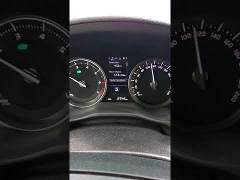 Расход бензина Toyota Land Cruiser 200  2016 4.6 по трассе