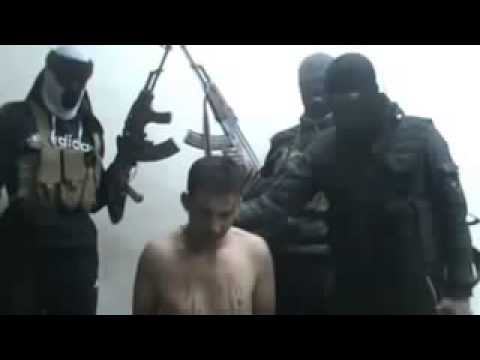 War and violence in Syria today   rebels mock prisoners