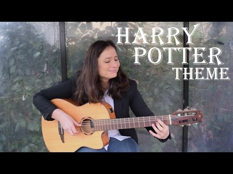 Harry Potter soundtrack: Hedwig's theme (guitar cover) with TAB by John williams