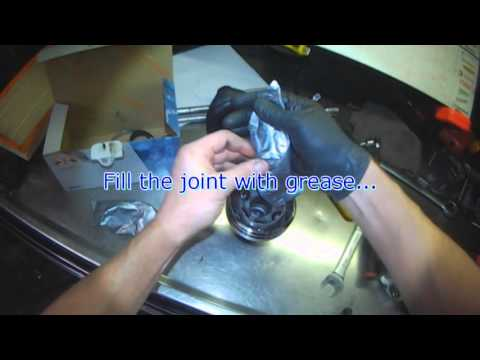 Audi 8P: Outer CV boot / CV joint replacement