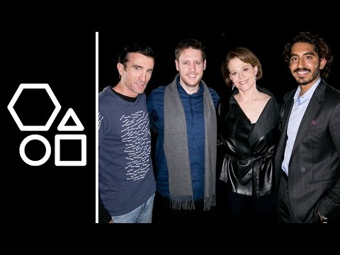 'Chappie' with Sigourney Weaver and Dev Patel  AOL BUILD