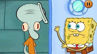 SpongeBob's Game Frenzy: Clean The Glaffiti New Card - Nicklodeon Games