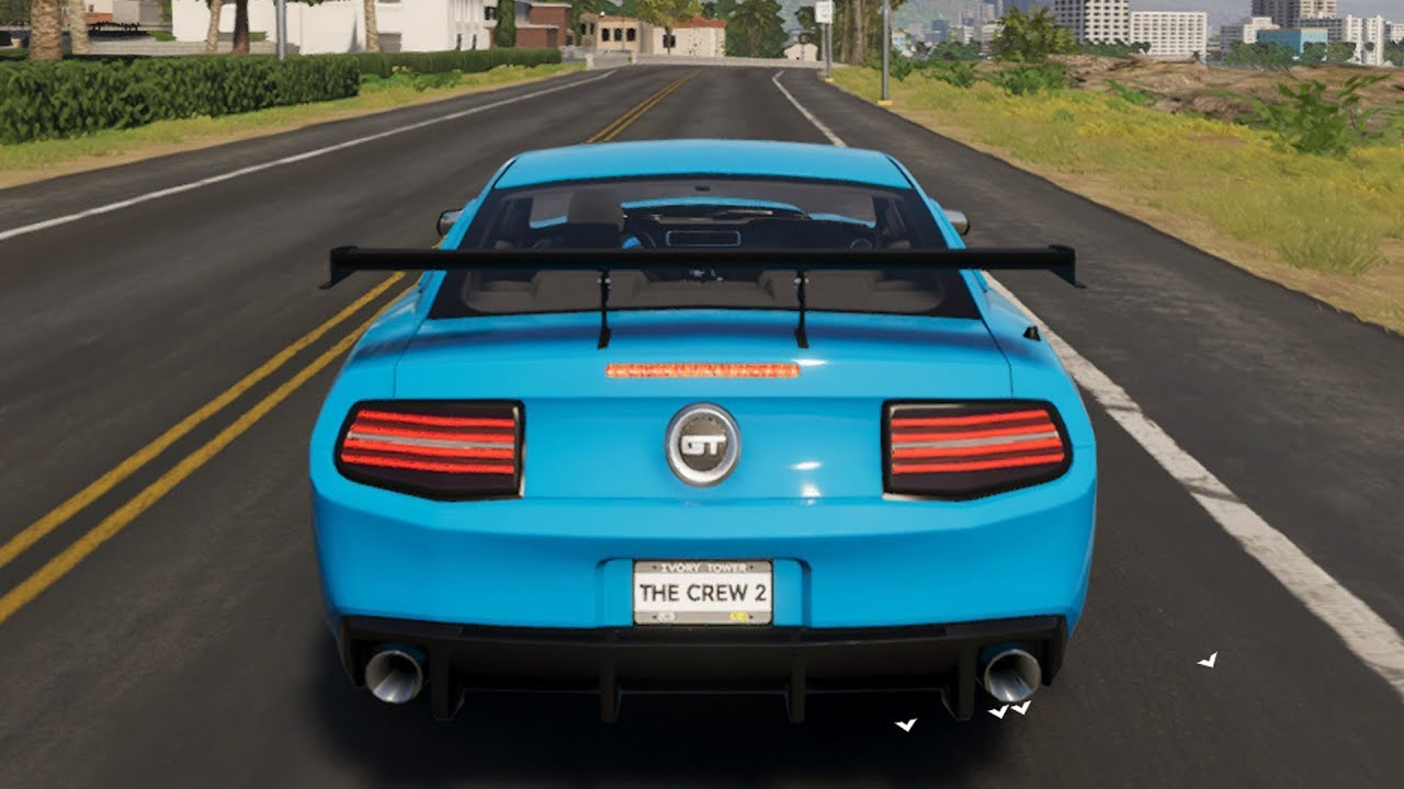 The Crew 2 Ford Mustang Gt 2017 Customize Tuning Car Pc Hd 1080p60fps