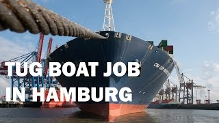 3x 400m vessels in Hamburg Waltershofer Hafen (4K video)