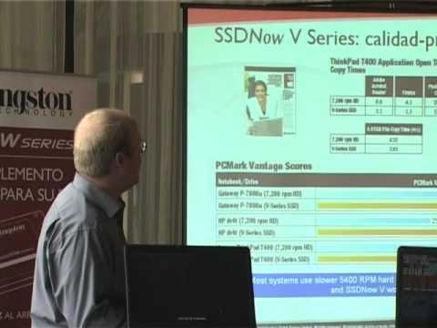 Kingston Technology presenta sus nuevos discos SSD en Madrid