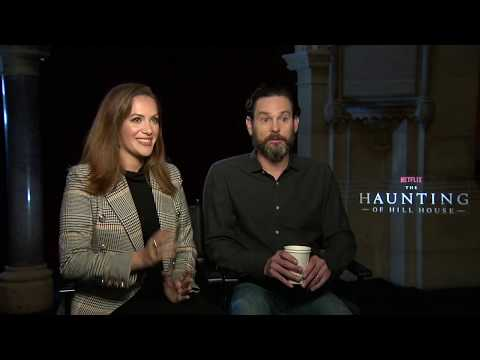 """Henry Thomas & Kate Siegel Talk  """"The Haunting of Hill House"""""""