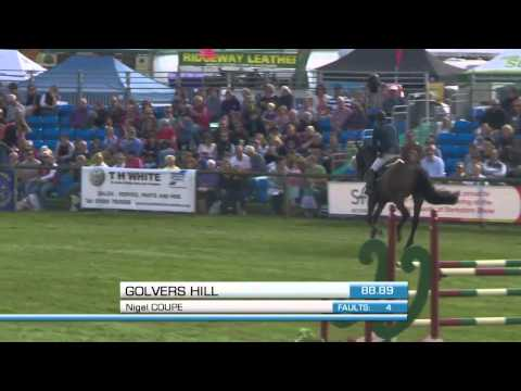 Showjumping -Int Stairway 2014   Royal Berkshire Show