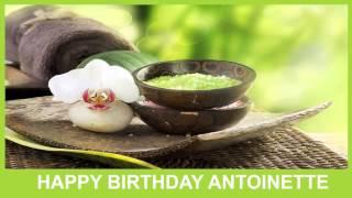 Antoinette   Birthday Spa - Happy Birthday