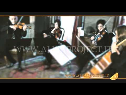 """ALMA PROJECT - SC String Quartet - Coldplay - """"Clocks"""""""