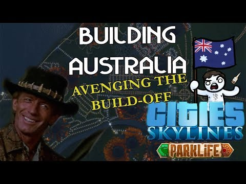 Cities: Skylines - Avenging PDX Con Build-off - Rebuilding Australia