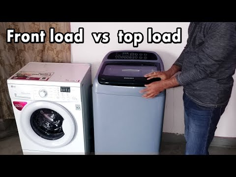 Front Load Vs Top Load Washing Machine | Top Load Vs Front Load Washing Machine