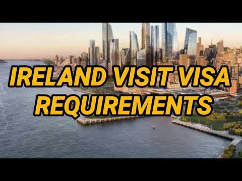 IRELAND- visit visa Requirements