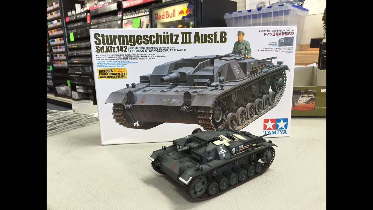 Building the Tamiya 1 35 Stug III ausf B   plastic models   YouTube