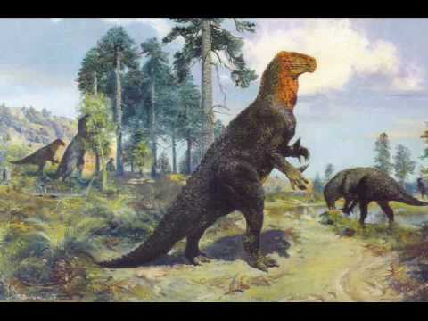 Art by Zdenek Burian: the History of the dinosaurs