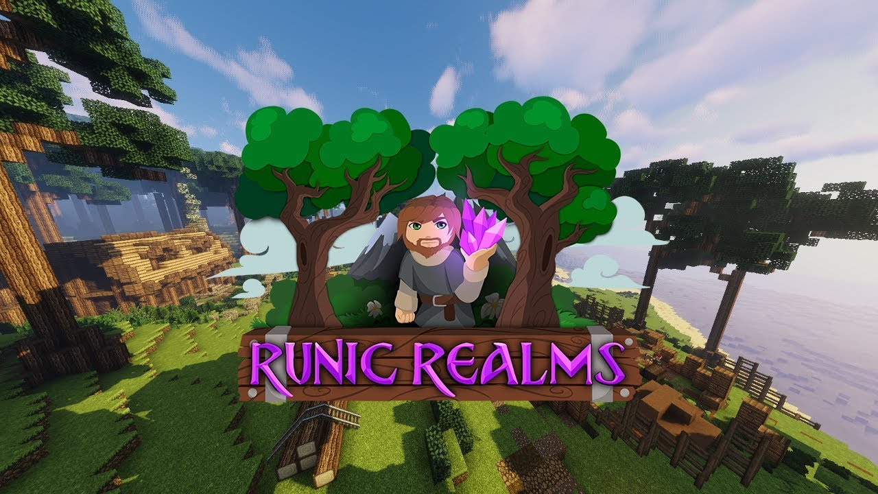 Runic Realms, a New Kind of Minecraft MMORPG